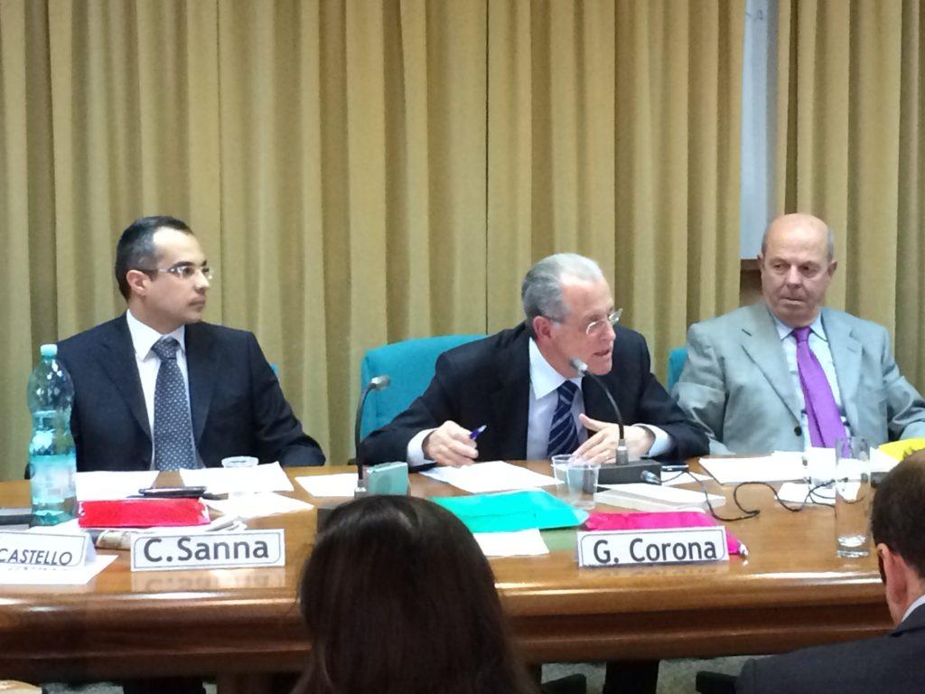 Il presidente del CTM Spa Giovanni Corona