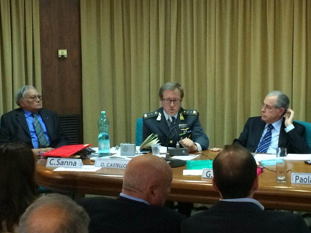 Il Comandante del Gruppo Territoriale di Cagliari della Guardia di Finanza Alessandro Troisi