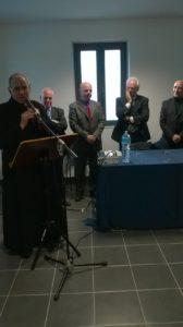 Il vescovo di Nuoro Marcia impartisce ha benedetto i locali